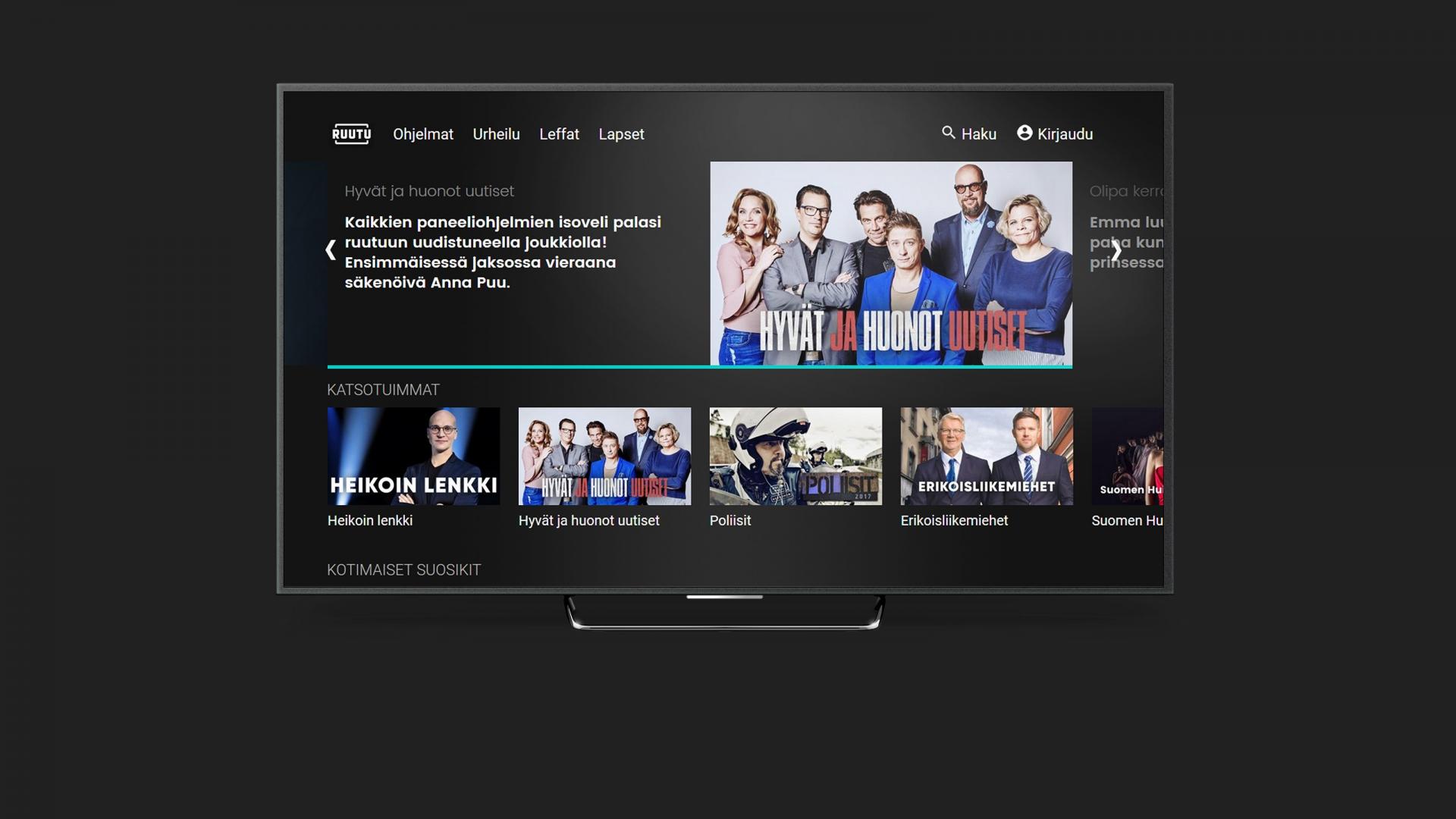 Samsung Smart Tv Ruutu Ei Löydy