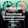 Vastaa ja voita 500 euron arvoiset talvirenkaat