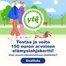 Testaa, onko sinusta elämänhallinnan päälliköksi ja voita 150 euron arvoinen elämyslahjakortti!